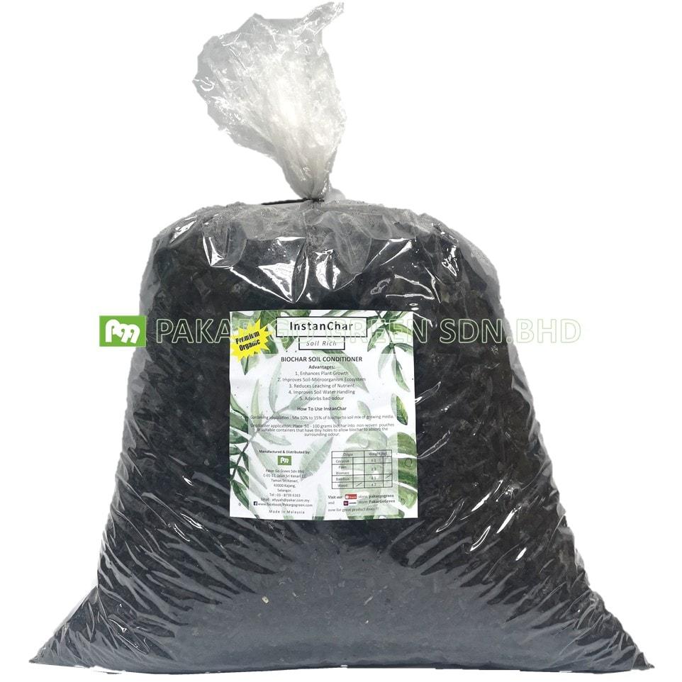 Bio-Arang Penyubur Tanah Biochar Soil Rich/Organic Soil Conditioner